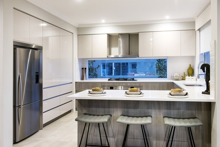 Stunning open plan kitchens © Ben Trager Homes | On display in Perth