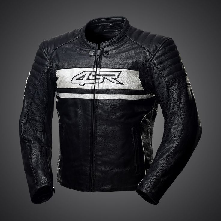 Innovated Roadster II - Pearl White leather jacket was primarily developed for use on naked bikes and streetfighters.