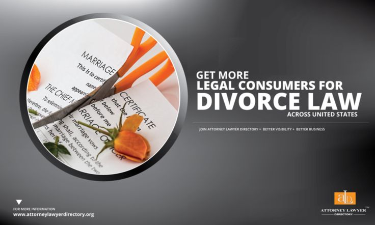 Get More Legal Consumers for Divorce across United States. Joining Attorney Lawyer Directory = More visibility + More Business #lawyer #attorney #divorce #familylaw http://attorneylawyerdirectory.org/find-locate-lawyer-lawfirms/divorce-and-family-law.html
