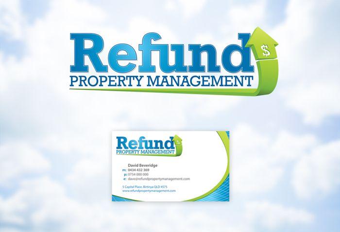 Real Estate Business Card & Logo Design