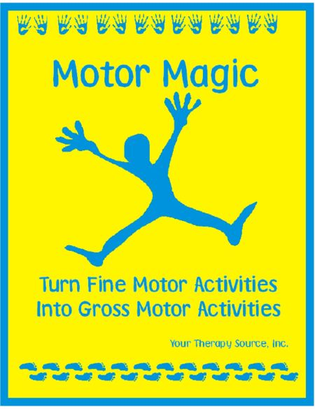427 best images about sensory processing disorder on for Fine and gross motor skills activities