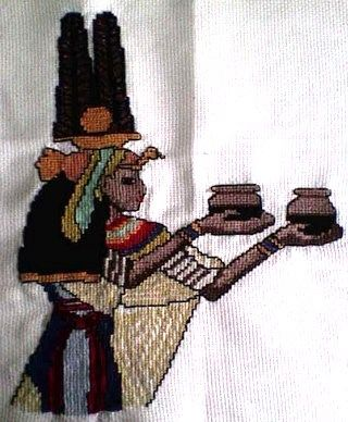 Egypťanka #embroidery