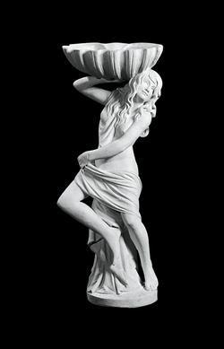 Phobes statue i marmor. Højde: 119 cm. Omkreds: 32 cm.