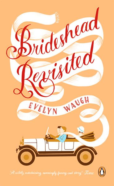 "Brideshead Revisited, Evelyn Waugh. File this under ""gorgeous novel."" Perfect pick for Downton fans."