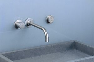 Vola has developed a full line of electronic faucets