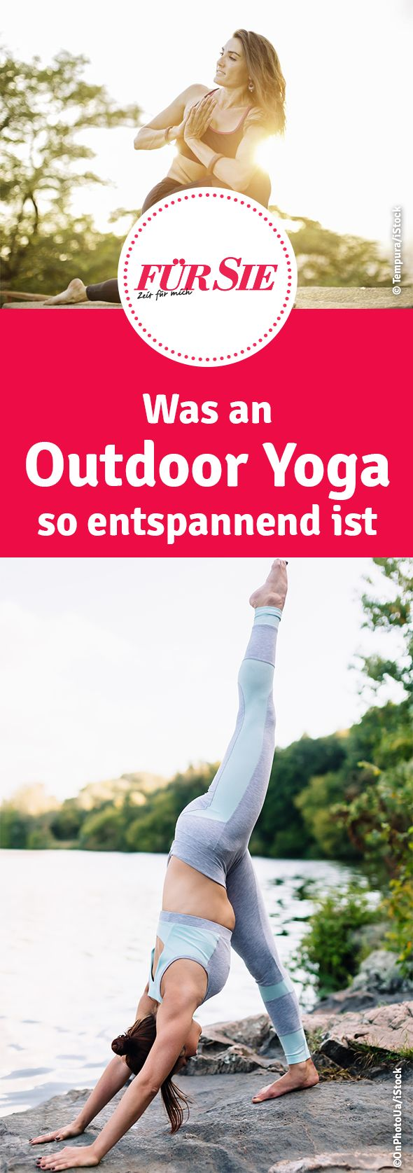 Was an Outdoor Yoga so entspannend ist