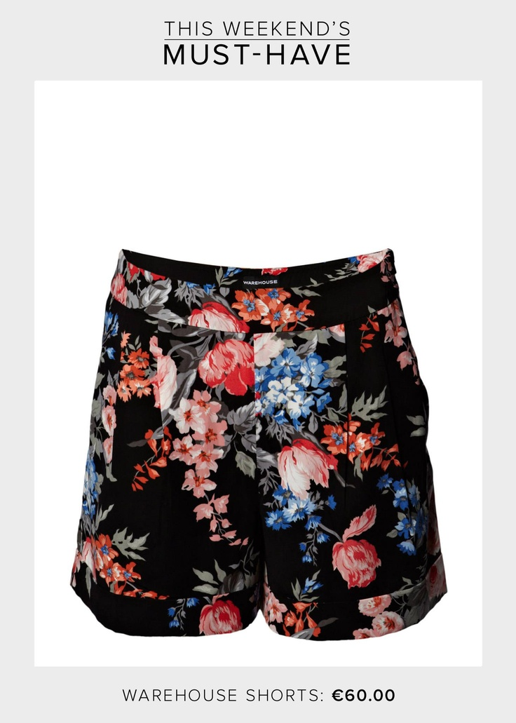 During the London Fashion Week, Olivia Palermo was talking about next trends coming this spring, mentioning about FLORAL PANTS! For this weekend, we present to you a pair of floral shorts by Warehouse. You will definitely see them through all seasons! Stay floral, stay graphic!     Get the shorts here >>http://www.boozt.com/r/warehouse/warehouse-floral-printed-shorts_810893/810894