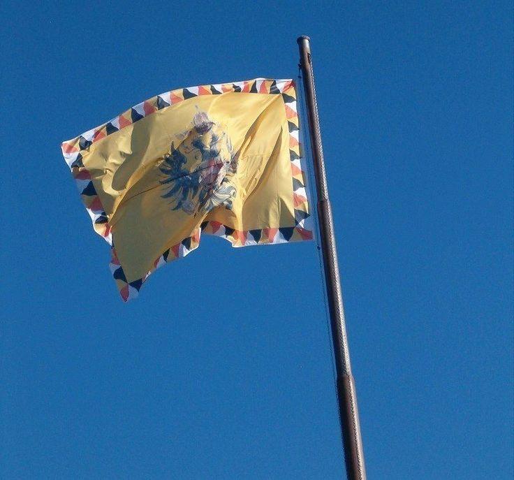 Die K.u.k. Flagge Weht über Dem Hospiz In Jerusalem, Denn