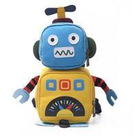 Милые Специфика Забавный Робот Мягкие Сумки На Ремне Рюкзаки Большой Размер Женщин Подарок Оптовая