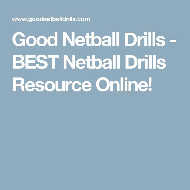 Good Netball Drills - BEST Netball Drills Resource Online!