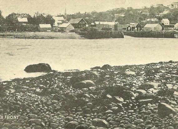 Part of Water Front DIGBY Nova Scotia UDB 1907 by TheOldBarnDoor, $5.00