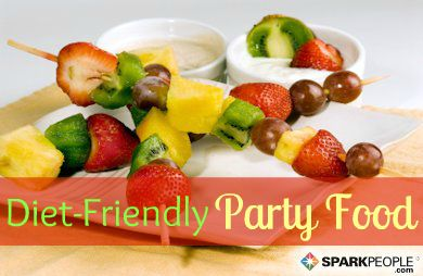The office #party, the neighborhood party, the family party….all filled with not-so-healthy temptations. Stick to your healthy plan by bringing one of these party #foods to your next gathering.