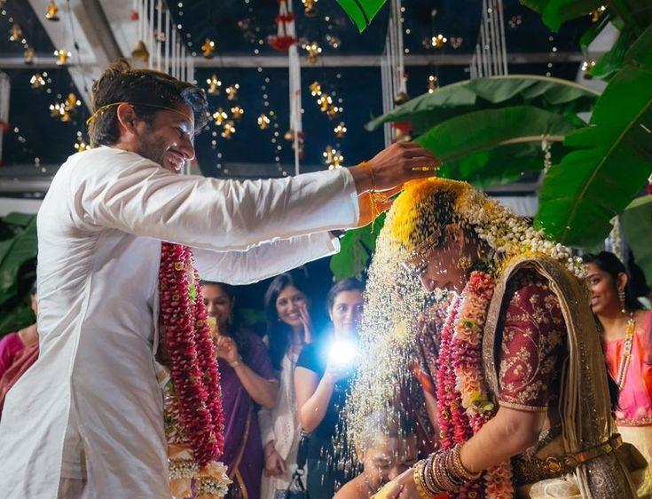 actors naga chaitanya samantha marriage photos   http://www.atozpictures.com/samantha-naga-chaitanya-wedding-photos