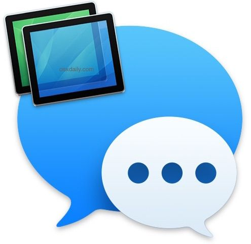 how to get messages on mac login