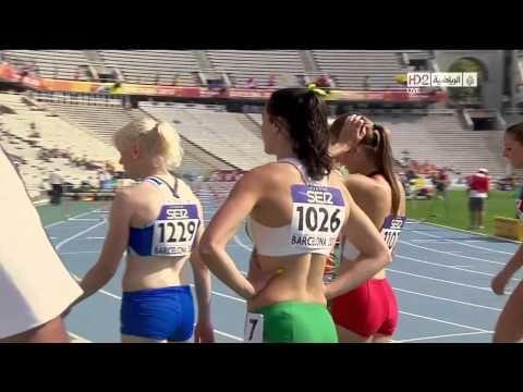 ▶ Locaza! jojo Me encanta su ritmo interno! Michelle Jenneke Dancing Sexy as Hell at Junior World Championships in Barcelona 2012 - YouTube