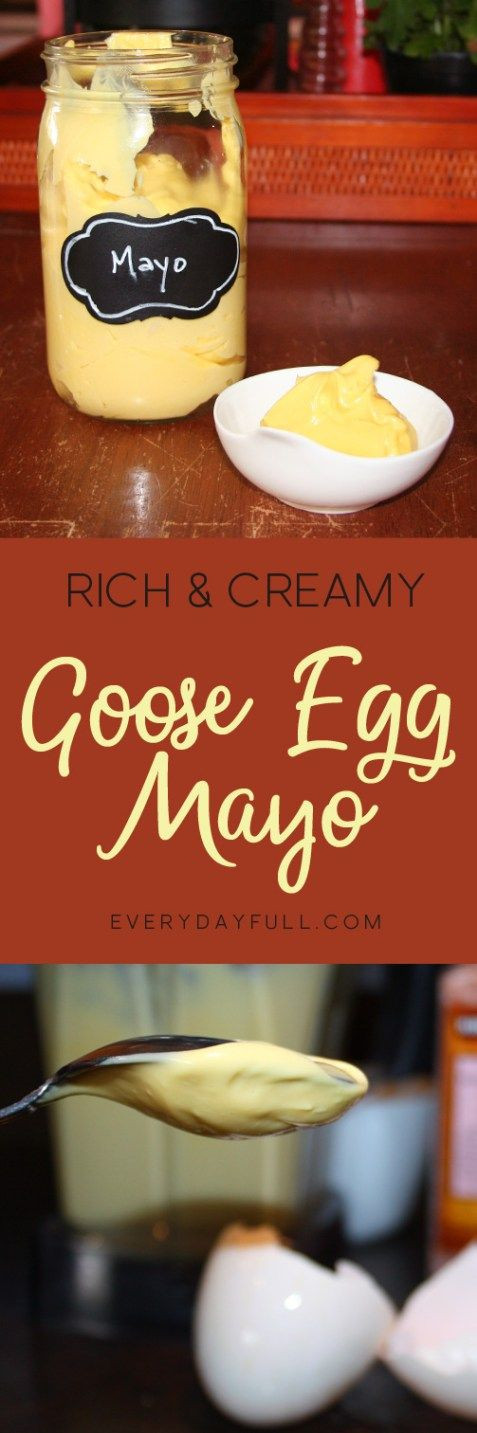 Making homemade mayonnaise in a blender is so easy my ten year old does it for me! And who knew you could make duck or goose egg mayonnaise? It's amazing!