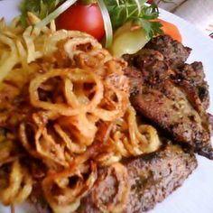 Egy finom Mustáros tarja sült hagymával ebédre vagy vacsorára? Mustáros tarja sült hagymával Receptek a Mindmegette.hu Recept gyűjteményében!
