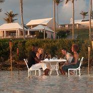 Best Bermuda Hotel Cambridge Beaches Resort and Spa Beachfront Dining
