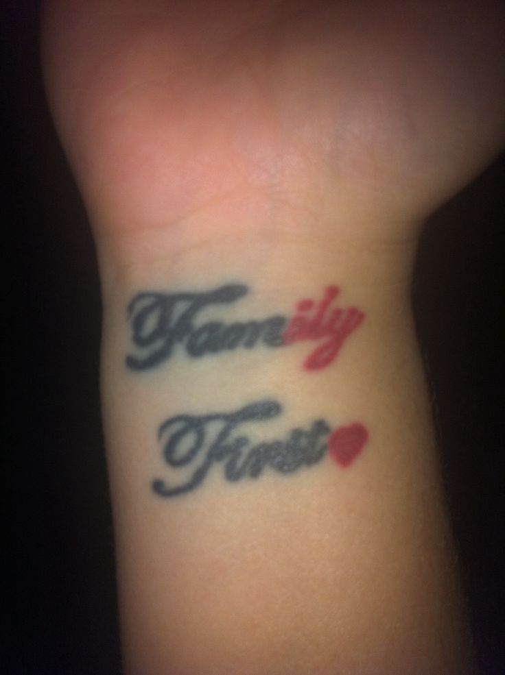 first Tattoo Heart IlyFamily First Tattoo Families First Tattoo ...
