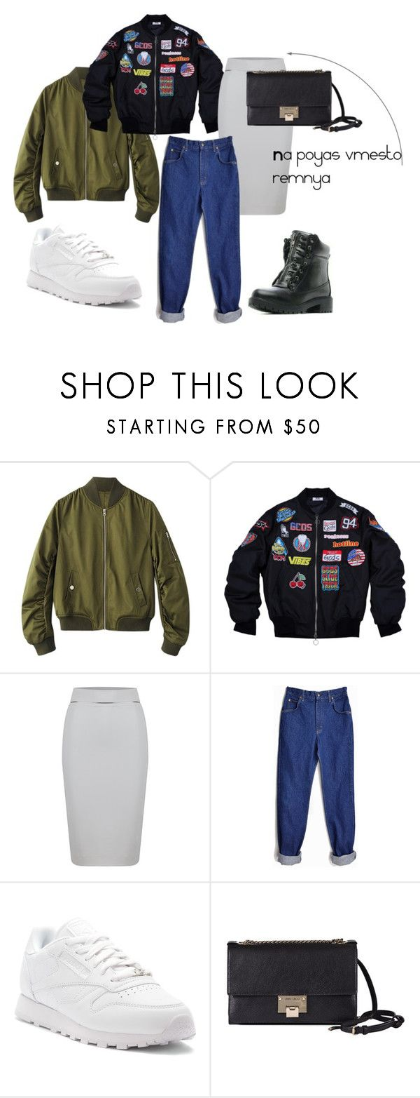 """""""75"""" by alena-mendesh on Polyvore featuring мода, Reebok и Jimmy Choo"""
