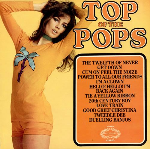 Top Of The Pops Volume 30 TOP OF THE POPS Top Of The Pops Volume 30 (1973 UK 12-track vinyl LP compilation, including TOTP renditions of Duelling Banjos, Cum On Feel The Noize & everything & anything inbetween,16