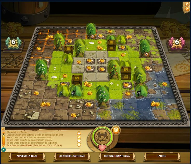 Krosmaster Arena  --  isometric game as board game