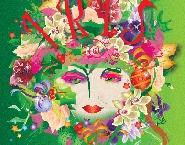 Ontwerp Kerst bloemenwinkel Iris