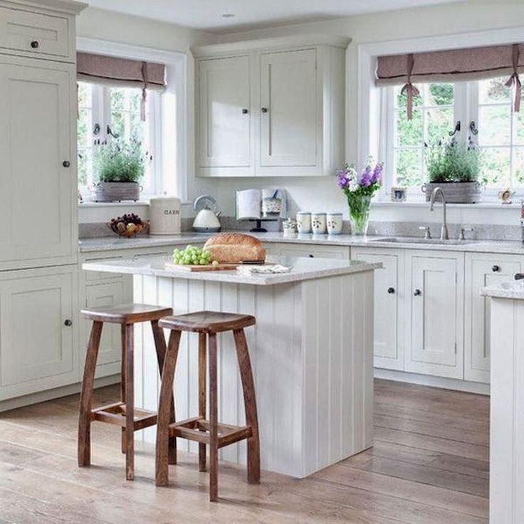 Apartment Kitchen Decorating Ideas: 51+ Stunning Rustic Kitchen Apartment Decorating Ideas