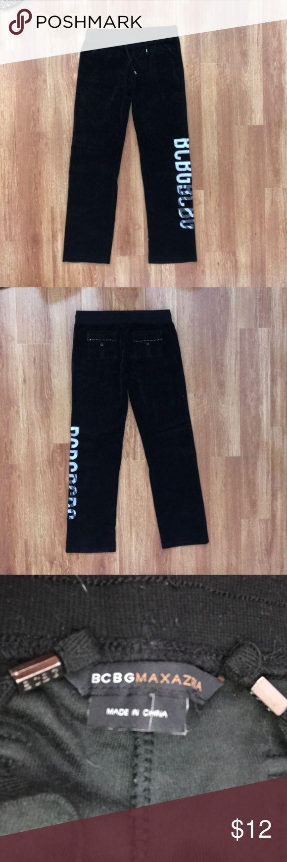 BCBG Valore Black Pants BGBC valore black pants. New without tags. Stud design on back pockets. BCBG Pants Jumpsuits & Rompers