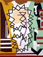 Shirley Jaffe / Criss Cross Center / 1991
