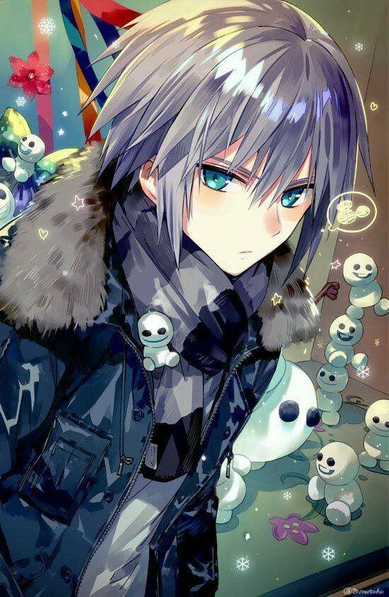 I Don T Know If This Is Riku It Looks Like Riku And That Looks Like A Mickey Mouse Head So Riku Anime Cute Anime Boy Anime Characters