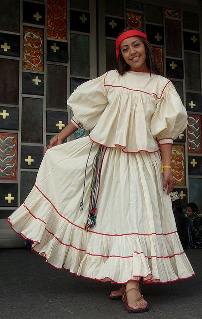 Los Trajes Tipicos De Mexico | CHIHUAHUA/ TRAJE DE TARAHUMARA...
