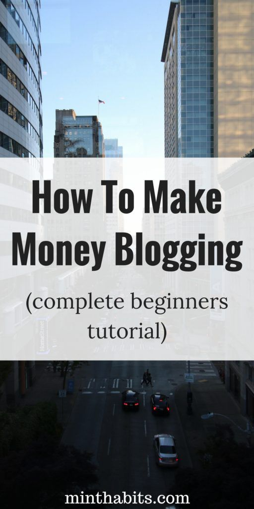 A complete guide on how to make money blogging for beginners. I talk about how blogs make money and how to make money with your blog effectively. Click here to learn how.