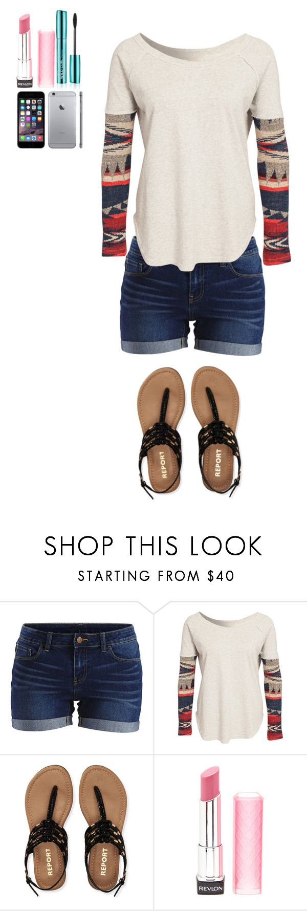"""""""Mall outfit"""" by paniceverywhere ❤ liked on Polyvore featuring Vila Milano, Denim & Supply by Ralph Lauren, Aéropostale and Revlon"""