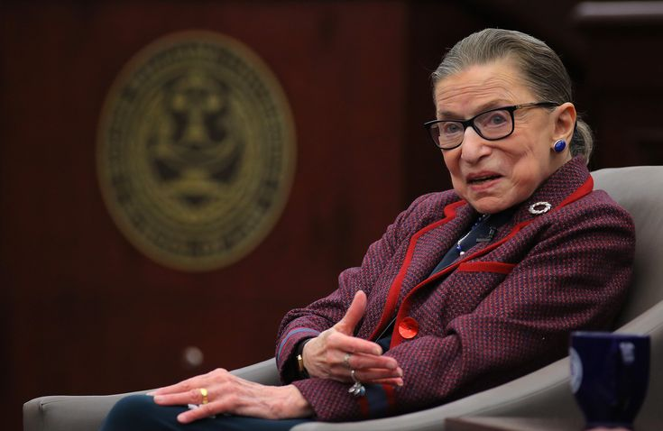 Supreme Court Justice Ruth Bader Ginsburg Says the #MeToo Movement Is Here to Stay
