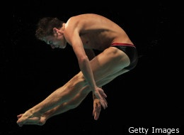 Michael Hixon, Amazing Teen Diver, Eyes London Olympics
