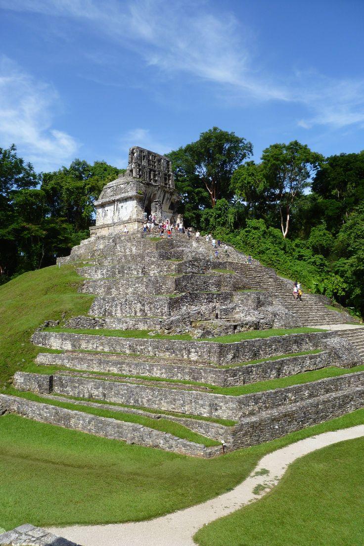 Palenque Maya Ruins Chiapas Mexico