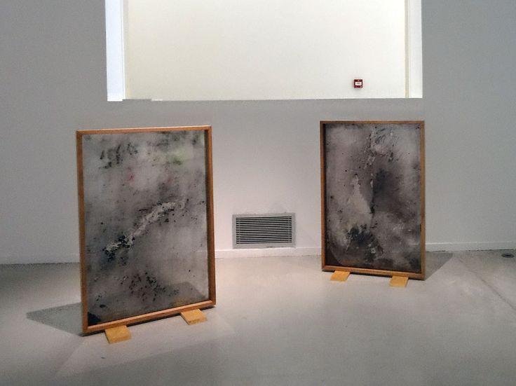 David Haines & Joyce Hinterding, «Electrostatic composition for Carbon Black, 2012. Résonances magnétiques à La Panacée, Montpellier
