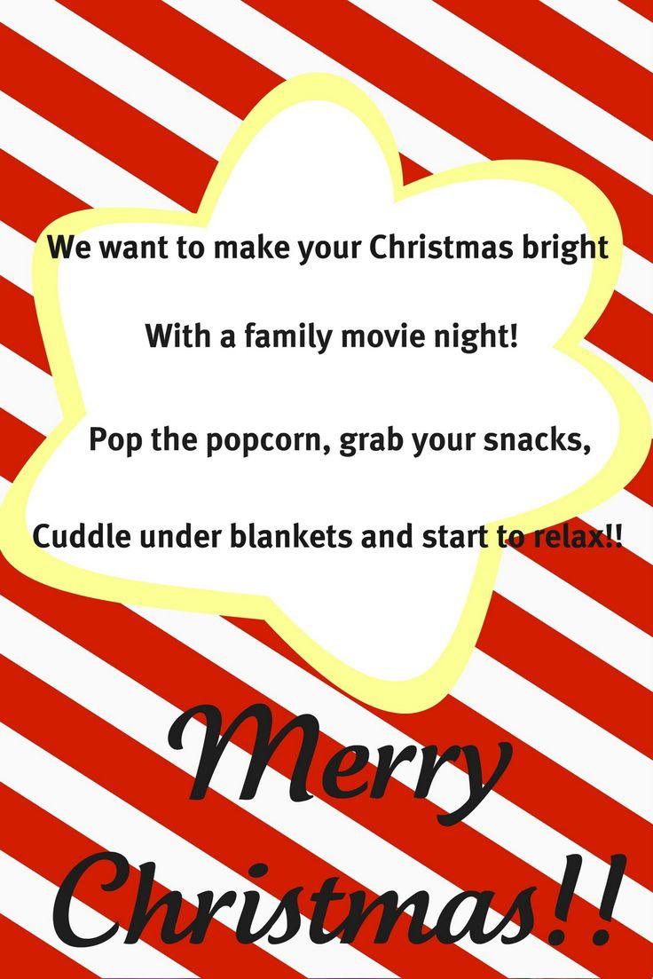 Movie Night Gift Basket Idea- With Printable