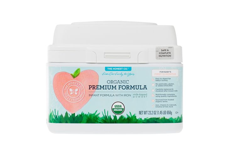 Carefully modeled after breast milk, Honest Organic Premium Infant Formula is easy to digest and naturally-derived.