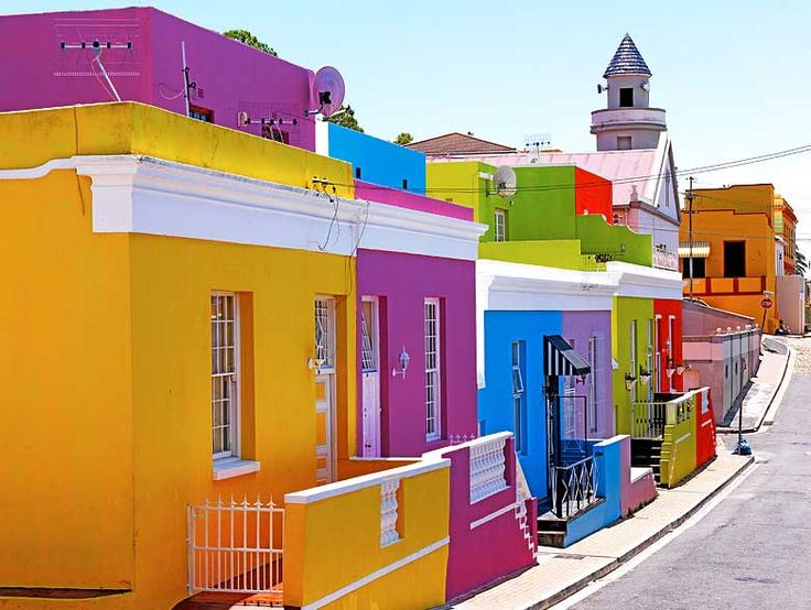 Bo-Kaap, Cape Town - how did I miss this?! Must go back!