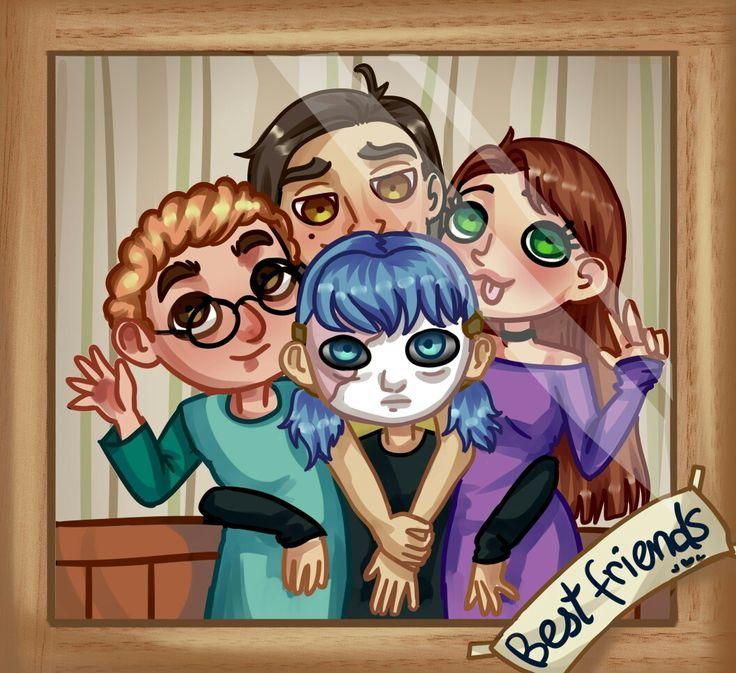 картинка с салли и его друзьями мое