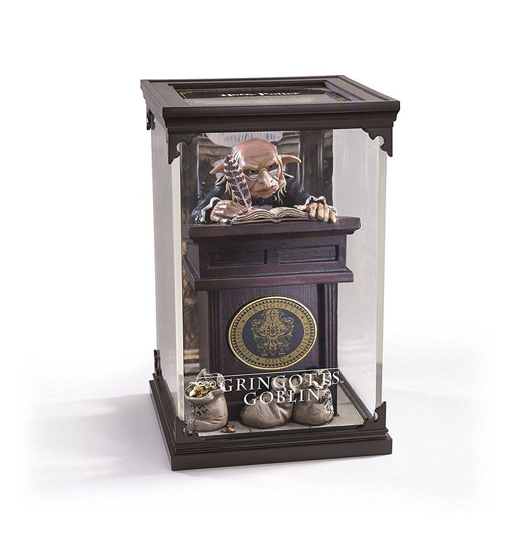 Créatures magiques - Gobelin de Gringotts - Figurines Harry Potter - Noble Collection - NN7552: Amazon.fr: Jeux et Jouets