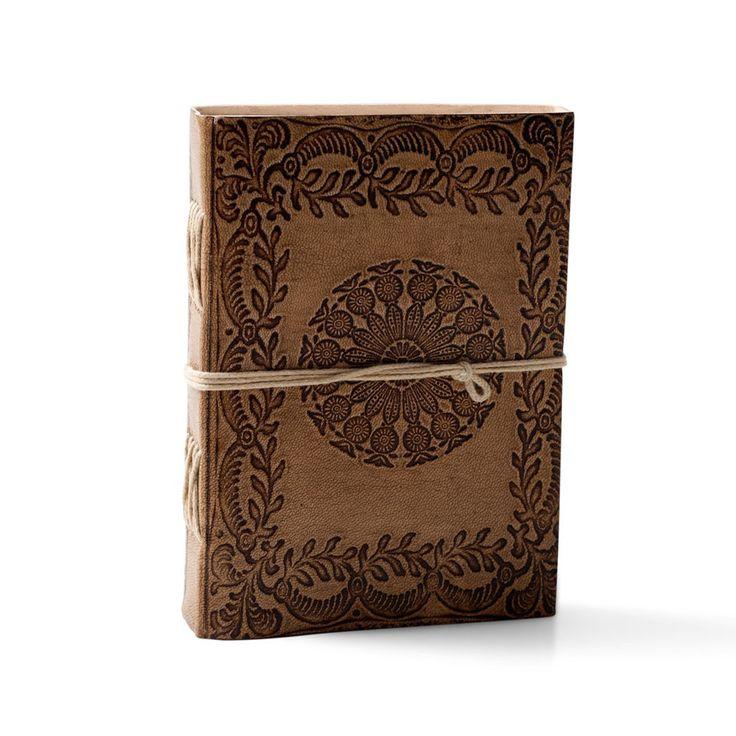 Leather Mandala Notebook