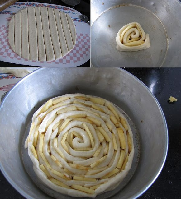 Super Yummy Recipes: The Bewitching Spiral Apple Bread