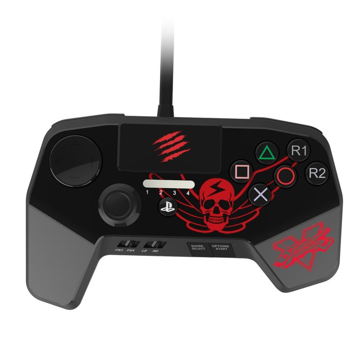 Mad Catz Street Fighter V FightPad PRO for #PS4 and #PS3