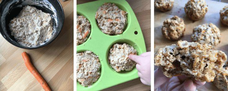 Hjemmelaget scones av spelt og hirse - passer fra 10 måneder