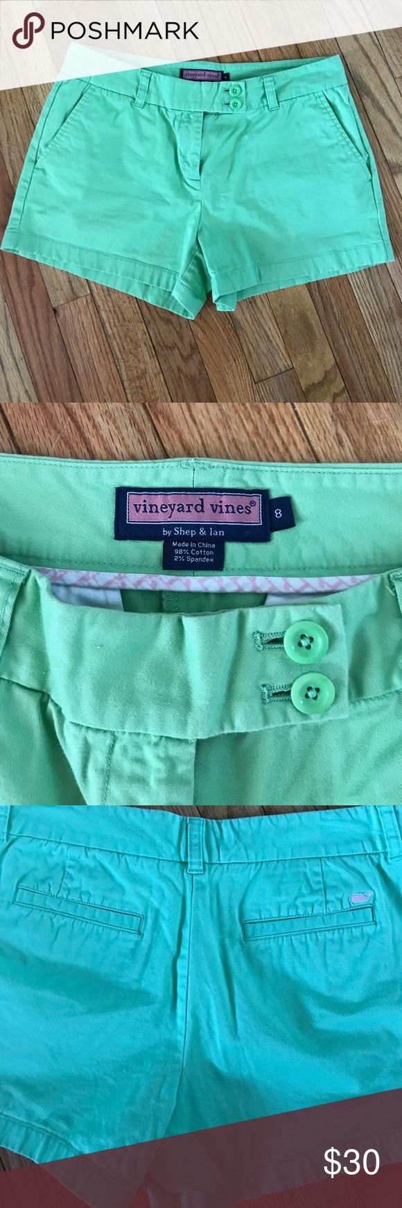 Vineyard vines shorts NWOT.  Lime green shorts.  3.5 inch. Vineyard Vines Shorts