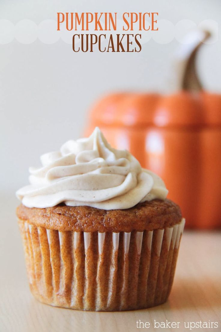 Best 25+ Pumpkin spice cupcakes ideas on Pinterest ...