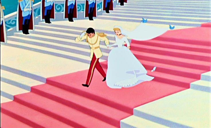 Cinderella And Prince Charming Movie Wedding Other Princesses Pinterest Bröllop Bio Och Askungen